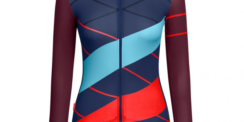 Top velo manches longues Rapha