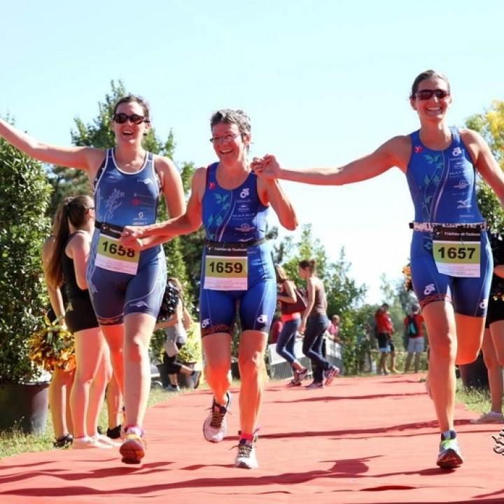 Triathlon Sprint par équipe à Toulouse