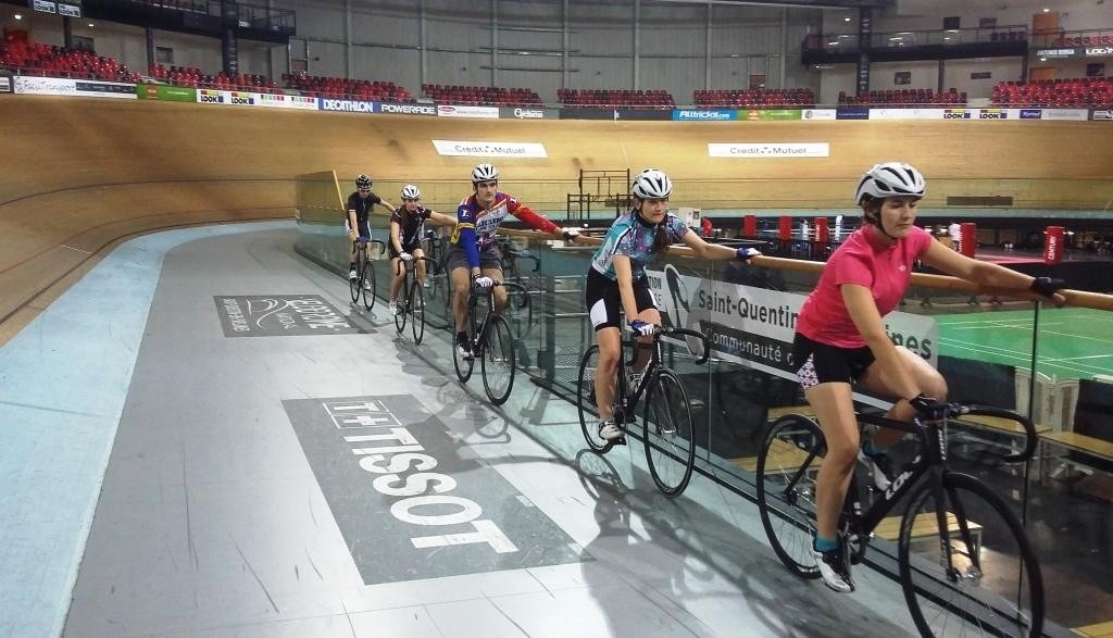 depart piste velodrome