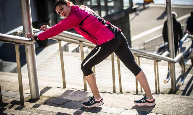 Marathonienne en carton