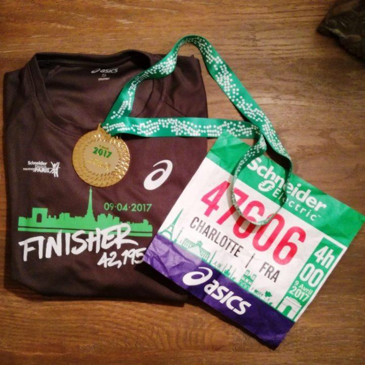Je suis marathonienne !