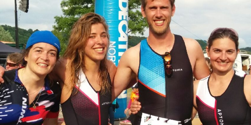 Triathlon M A Pont Audemer Charlotte Fun And Go