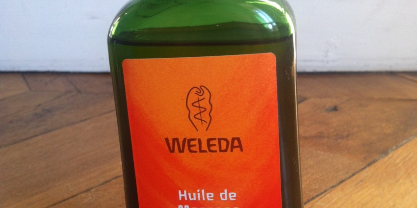 L'huile Weleda : mon atout recup !