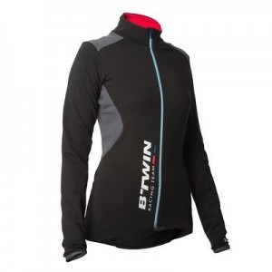 Maillot velo manches longues Decathlon