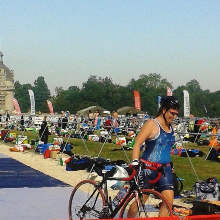Les débuts d'Agnès en triathlon